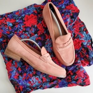 Madewell Elinor Suede Loafers / 7.5